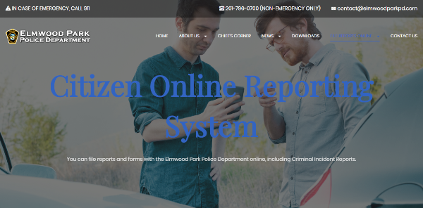 Citizen Online Reporting System (